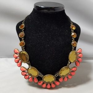 J. Crew Fashion Coral Bead Necklace